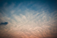 Hot Summer Sky Stock Images