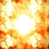 Hot summer sun Stock Photos