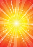 The hot summer sun. Abstract background Royalty Free Stock Photo