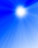 Hot summer sun Stock Images