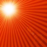 Hot summer sun Royalty Free Stock Photography