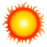 Hot summer sun Stock Image