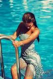 Hot summer woman Royalty Free Stock Photos