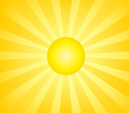 Hot sun Royalty Free Stock Images