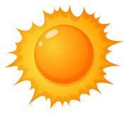 The hot sun Royalty Free Stock Images