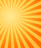 Hot sun sunbeams shining Royalty Free Stock Photography