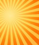 Hot sun sunbeams shining royalty free stock photography