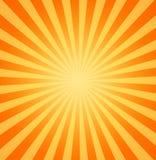 Hot sun sunbeams shining