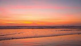 Hot sunset in Oceanside