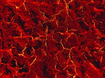 Hot surface of the earth with cracks stock photography