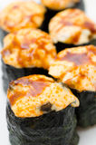 Hot sushi rolls, macro Stock Image
