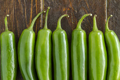 Hot Sweet and Chili Pepper Varieties Stock Images