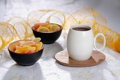 Hot tea royalty free stock image