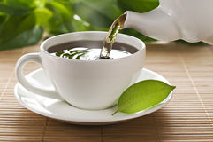 Hot tea Stock Images