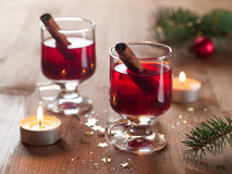 Hot tea or mulled wine Royalty Free Stock Images