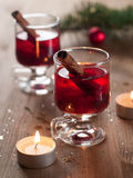 Hot tea or mulled wine Royalty Free Stock Image