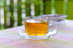 Hot tea. On the table Royalty Free Stock Image