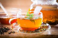 Hot tea Royalty Free Stock Photography