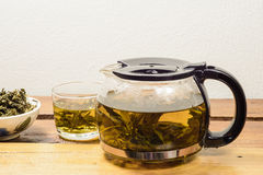 Hot Teapot drink Stock Images