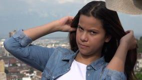 Hot Teen Girl During Summer stock video