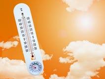 Hot temperature Stock Photo