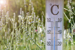 Hot temperature Royalty Free Stock Image