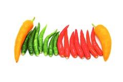 Hot thai chilli Royalty Free Stock Photos