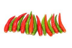 Hot thai chilli Stock Images