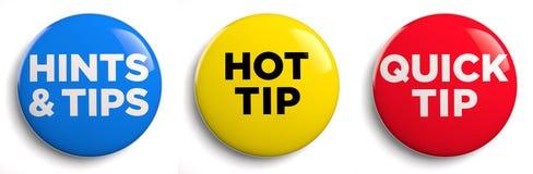 Hot Tip stock illustration