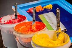 Hot tone of colour Stock Photos
