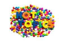 Hot Topics Stock Photos