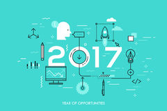 Hot trends and prospects in idea creation, innovative activities, startup launch, development Stock Photos
