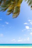 Hot Tropical Beach Stock Image