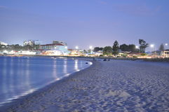 Hot Tropical Summer Evening At The Beach Perth Royalty Free Stock Photography