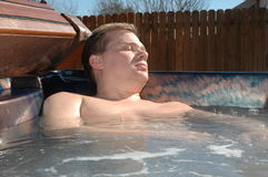 Hot Tub Stock Photo