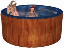 Hot Tub Royalty Free Stock Photos