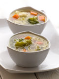 Hot soup Stock Images