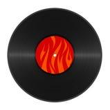 Hot vinyl Royalty Free Stock Image