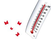 Hot warm 2 stock illustration