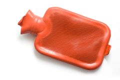 Hot-water μπουκάλι στοκ φωτογραφίες με δικαίωμα ελεύθερης χρήσης