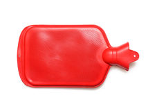 Hot water bottle. Or bag on white background Royalty Free Stock Photography