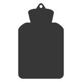 Hot water bottle icon Royalty Free Stock Photography