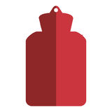 Hot water bottle icon Stock Image