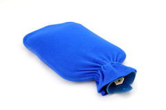 Hot Water Bottle. On the white background royalty free stock images