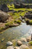 Hot water natural Stock Photos