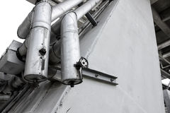 Hot water Pipeline Stock Photo