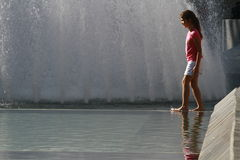Hot weather Europe Royalty Free Stock Photo