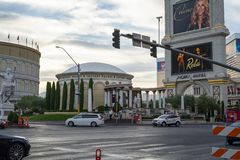 Hot weather in Monday afternoon in Las Vegas stock photos