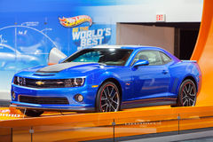 Hot Wheels Camaro 2013 Chicago Auto Show Royalty Free Stock Photography