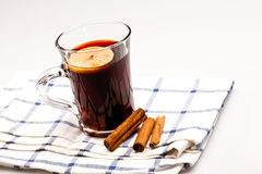 Hot wine Royalty Free Stock Image